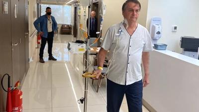 Bolsonaro από το νοσοκομείο: Θα επιστρέψω στη δράση σύντομα