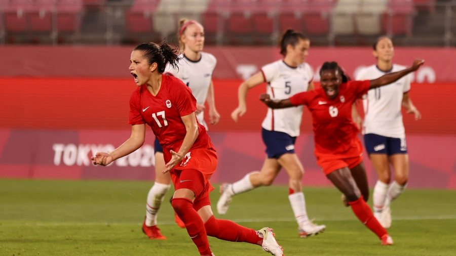 Ποδόσφαιρο Γυναικών: Αποκλεισμός σοκ για τις ΗΠΑ στον ημιτελικό – ηττήθηκαν με 1-0 από τον Καναδά!