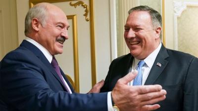 Ιστορική επίσκεψη Pompeo στη Λευκορωσία - Σύμμαχος των ΗΠΑ ο