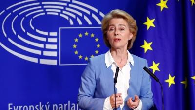 Ursula von der Leyen: Ξεπεράσαμε τους 300 εκατ. εμβολιασμούς κατά της covid στην ΕΕ