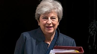 Συγχαρητήριο μήνυμα της Theresa May στον Κυριάκο Μητσοτάκη