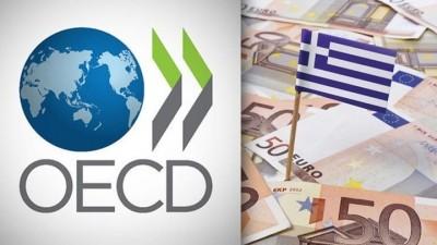 Πρόβλεψη σοκ από τον ΟΟΣΑ - Μόλις στο +0,9% η ανάπτυξη της Ελλάδας το 2021, στο +6,6% το 2022 - Η ύφεση το 2020 στο -10,1%