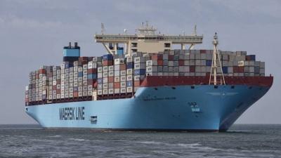 «Μαύρα σύννεφα» βλέπει πάνω από το εμπόριο η Maersk - Προχωρά σε αναστολή δρομολογίων από την Ασία προς την Ευρώπη