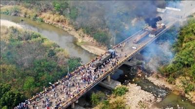 Μάχες στα σύνορα Βενεζουέλας - Κολομβίας