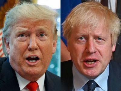 Johnson - Trump: «Εντελώς λάθος» η αμφισβήτηση του εκλογικού αποτελέσματος και η ενθάρρυνση των επεισοδίων