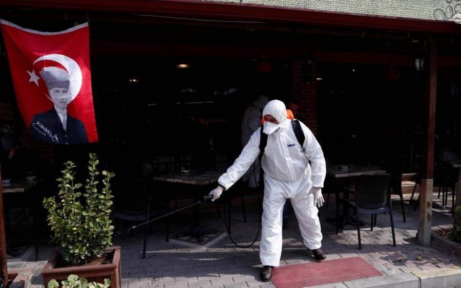 Νέο αρνητικό ρεκόρ κρουσμάτων Covid στην Τουρκία με 14.230 μολύνσεις, 55 νεκροί