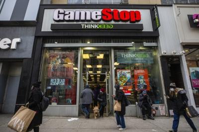 «Βουτιά» έως 17% για την GameStop - Προς πώληση 3,5 εκατ. μετοχών