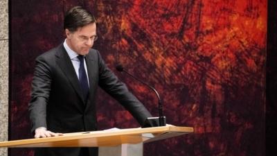 Ολλανδία: Πολιτική θύελλα και πρόταση δυσπιστίας κατά του Rutte για ένα ψέμα