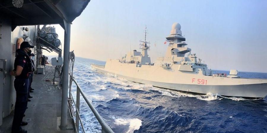 Διεθνείς συνεκπαιδεύσεις Ενόπλων Δυνάμεων στη θαλάσσια περιοχή νοτιοανατολικά και δυτικά της Κρήτης