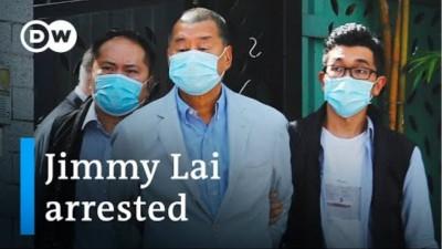 Συνελήφθη ο Jimmy Lai μεγιστάνας των ΜΜΕ στο Χονγκ Κονγκ