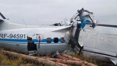 Ρωσία: Συντριβή αεροπλάνου – Στους 16 οι νεκροί και 7 οι τραυματίες