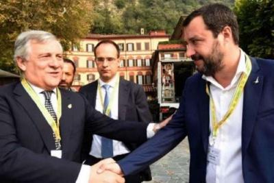Για αναθεωρητισμό του Β΄Παγκοσμίου Πολέμου κατηγορεί Tajani και Salvini η Σλοβενία