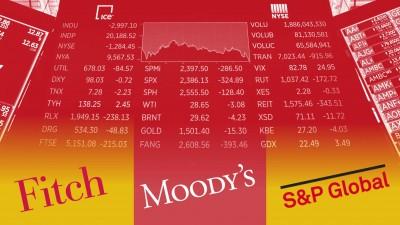 Πιθανή η υποβάθμιση των ΗΠΑ από Fitch, Moody's - Τι θα φέρει την απώλεια του ΑΑΑ