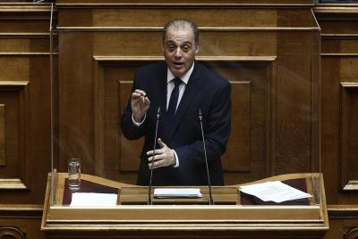 Βελόπουλος: Οι απελάσεις είναι νόμιμες όταν συντρέχουν λόγοι προστασίας της υγείας και της δημόσιας τάξης