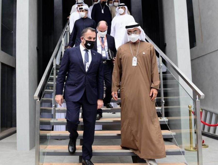 Συνάντηση Παναγιωτόπουλου με τον Διάδοχο Πρίγκηπα του Abu Dhabi - Στο επίκεντρο γεωπολιτικές εξελίξεις, διμερείς σχέσεις