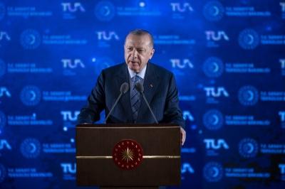Erdogan: Η Τουρκία θα προσγειωθεί στο φεγγάρι έως το 2023 - Θα στείλουμε πολίτη στο διάστημα