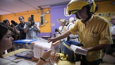 Ισπανικές εκλογές: Αυξημένη η συμμετοχή των ψηφοφόρων, αγγίζει το 44,8%