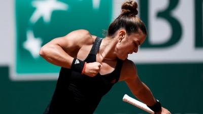 Αυτό είναι το ποσό που εξασφάλισε η Μαρία Σάκκαρη με την πρόκριση στα ημιτελικά του Roland Garros