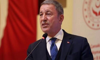 Akar: Η Τουρκία θα προστατεύσει τα συμφέροντά της σε Αιγαίο και Κύπρο