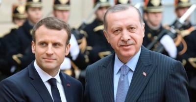 H Γαλλία υποστηρίζει την Ελλάδα - O Erdogan «επιστρέφει» στον Macron τις κατηγορίες για επικίνδυνο παιχνίδι στη Λιβύη - Διαψεύδει η Παλαιστίνη για ΑΟΖ