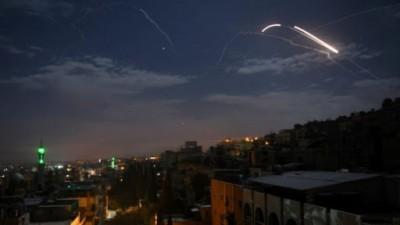 Ο ισραηλινός στρατός έπληξε 50 στόχους στη Συρία το 2020