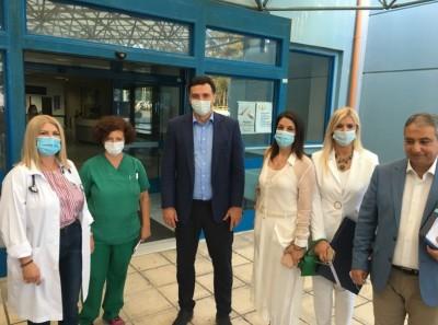 Στην Κέρκυρα ο Κικίλιας: Πρέπει να συνεχίσουμε να τηρούμε τις οδηγίες του ΕΟΔΥ και τα ιατρικά πρωτόκολλα
