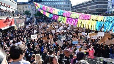 Αντιρατσιστικές διαδηλώσεις σε Φινλανδία, Σουηδία και Ολλανδία σε ένδειξη διαμαρτυρίας για τον θάνατο του G. Floyd