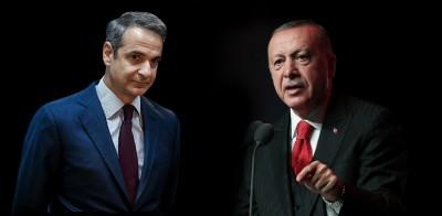 Στο κόκκινο η κατάσταση στην Ανατολική Μεσόγειο - Ο Erdogan απειλεί με πόλεμο και ο Μητσοτάκης προσφέρει κλάδο ελαίας και διάλογο