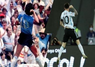 Copa America 2021: Ο Μαραντόνα «υποδέχθηκε» την Αργεντινή και ο Μέσι τον τίμησε με τον πανηγυρισμό του 1986!