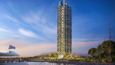 Lamda Development: Πολύ μεγάλο ενδιαφέρον για τα διαμερίσματα του πράσινου ουρανοξύστη στο Ελληνικό
