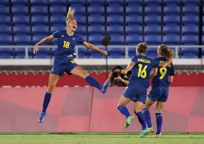 Ποδόσφαιρο Γυναικών: Η Σουηδία «τσέκαρε» το εισιτήριο για τον πρώτο τελικό της ιστορίας της!