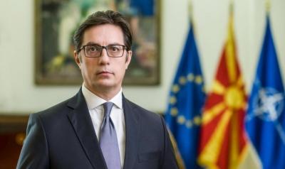 Στην Ελλάδα ο πρόεδρος της Βόρειας Μακεδονίας, Stevo Pendarovski – Πρώτη επίσημη επίσκεψη