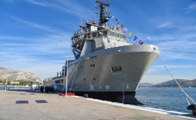 Νέα δωρεά του Πάνου Λασκαρίδη στο Πολεμικό Ναυτικό