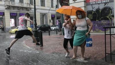 Μαρουσάκης: Έρχονται καταιγίδες και χαλάζι μετά τον καύσωνα - Σε ποιες περιοχές