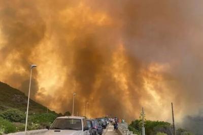 Ιταλία: Οι πυρκαγιές κατέκαψαν 1.580.000 στρέμματα δασικών εκτάσεων το 2021