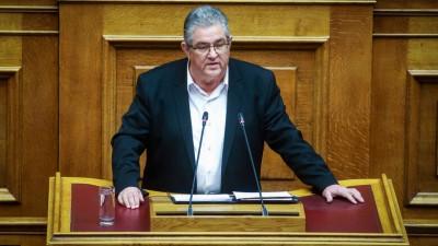 Κουτσούμπας για προϋπολογισμό: Αντιλαϊκό μνημείο εις βάρος των εργαζομένων - Φέρνει φόρους 3,5 δισ. ευρώ