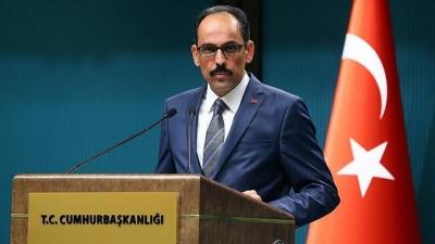 Kalin (εκπρ. Erdogan): Ζωτικής σημασίας για την Τουρκία, η ειρήνη και η σταθερότητα στην Αλβανία