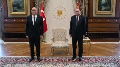 Στη σκιά των προκλήσεων η συνάντηση Δένδια με Erdogan - Το μήνυμα στον Μητσοτάκη - Ρίχνει τους τόνους ο Cavusoglu