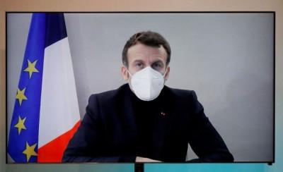 Macron (Γαλλία): Σημάδια βελτίωσης παρουσιάζει η υγεία του - Με αργούς ρυθμούς συνεχίζει να εργάζεται