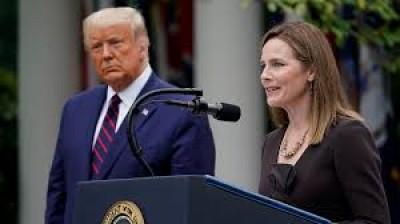 ΗΠΑ: «Δεν μπορεί να ελέγξει» έναν πρόεδρο το δικαστικό σώμα, υποστήριξε η εκλεκτή του προέδρου Trump για το Ανώτατο Δικαστήριο