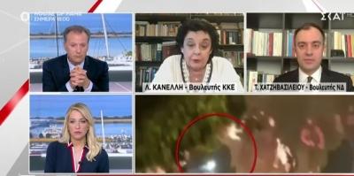 Εμπάργκο του ΚΚΕ στον ΣΚΑΪ - Καταγγέλλει λογοκρισία σε βάρος της Λιάνας Κανέλλη