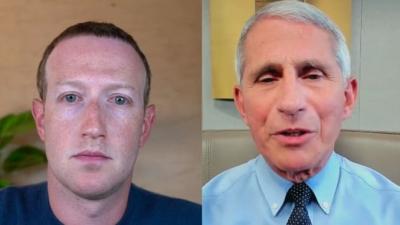 Σάλος στις ΗΠΑ με τα μηνύματα Fauci - Facebook για τον κορωνοϊό - Λογοκρίθηκαν αναρτήσεις για την πανδημία