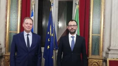 Συνάντηση Λιβανού με τον Ιταλό ομόλογό του – Στο επίκεντρο η διατροφική σήμανση και η παράνομη αλιεία