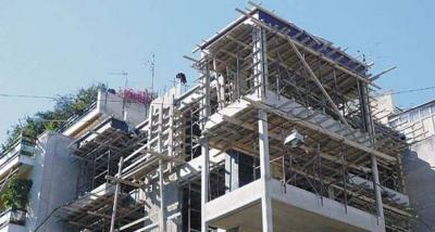 ΕΛΣΤΑΤ: Άλμα 125% στις οικοδομικές άδειες τον Απρίλιο 2021