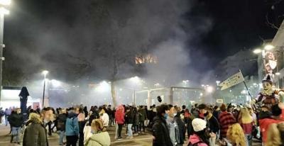 Ξάνθη: Καρναβάλι με εκατοντάδες άτομα, παρά το lockdown