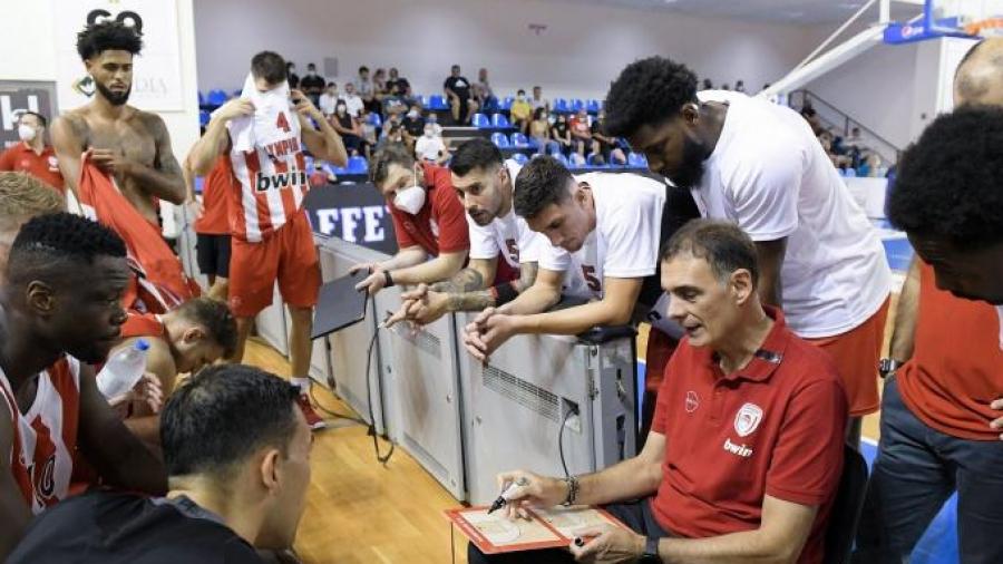 Μπαρτζώκας μετά τη νίκη επί του Κολοσσού: «Σε γενικές γραμμές δεν είμαι ευχαριστημένος»