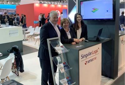 """Η SingularLogic και η θυγατρική της SenseOne στη διεθνή έκθεση """"IoT Solutions World Congress 2018"""""""