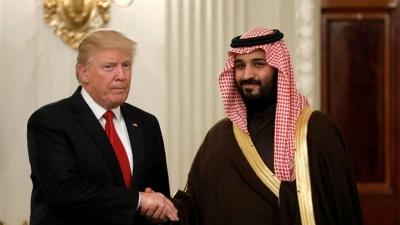 Στα 450 δισ δολάρια η τιμή του Trump για να διασώσει τον Mohammed bin Salman