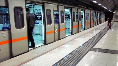 ΣΤΑΣΥ: Δεν πραγματοποιούνται τα δρομολόγια του Μετρό, από και προς το Αεροδρόμιο, το διάστημα 15:30 -16:00