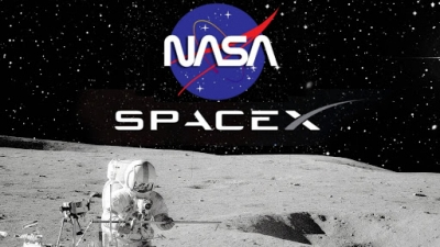 NASA: Συμβόλαιο 2,9 δισ. δολ. με την SpaceX  του Elon Musk για σκάφος προσσελήνωσης
